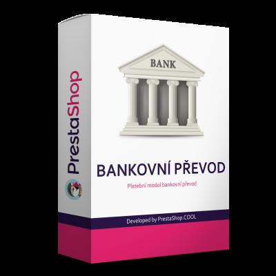 Modul Platba bankovým prevodom