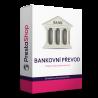 Modul pre PrestaShop 1.7 Modul pre platbu bankovým prevodom ponúka oveľa viac ako obyčajný platobný modul. Obsahuje logickú nadväznosť na bankové účty, zobrazuje zákazníkom údaje pre daný bankový účet v závislosti na zvolenej mene. Ponúka rýchlu platbu cez QR kód, upomienky na nezaplatenú objednávku a ďalšie funkcie.