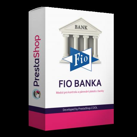 FIO Banka párovanie platieb k objednávkam