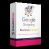 Modul proPrestaShop 1.6, 1.7 Modul umožňuje export produktov do Google nákupov vo formáte XML vo všetkých jazykoch vášho eshopu. Umožňuje profesionálnu správu produktov, kategórií a mnoho ďalšieho. Navyše sú súčasťou modulu aj zákaznícke recenzie. Google nákupy sú na trhu najviac návratová investície do marketingových kampaní. Využite aj vy marketingový potenciál jedného z najväčších hráčov na trhu.