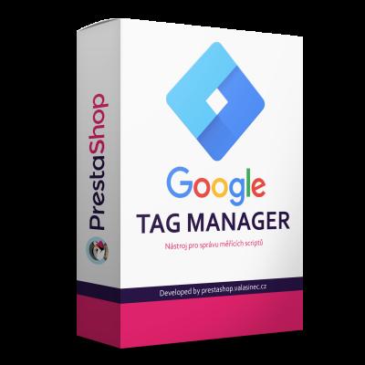 Google Tag Manager modul - PrestaShop modul