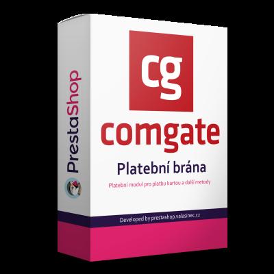 ComGate platobná brána - modul PrestaShop 1.7