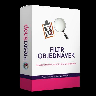 Filter objednávok v administrácii modul