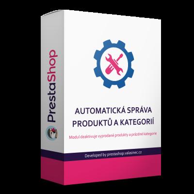 Automatická správa produktov a kategórií 4v1