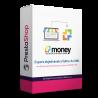 Modul pre PrestaShop 1.6, 1.7 Modul umožňuje export faktúr, objednávok a dobropisov z eshopu pre účtovné SW MONEY. Vyberiete si obdobie, za ktoré chcete dáta exportovať a modul vám vytvorí XML vo formáte pre MONEY SW. Tento XML možno potom odovzdať vašej účtovné alebo sami nahrať rovno do MONEY. Bez námahy máte všetko prevedené z eshopu do účtovníctva.